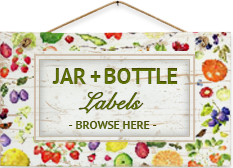 Jar + Bottle Labels - Browse Here